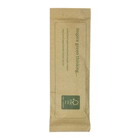 FSC© houten bestekset kraft  (mes-vork-lepel-tandenstoker-servet)