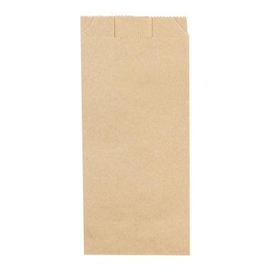 FSC© papieren snackzak 10+6x21cm nr.23 (1« ons)