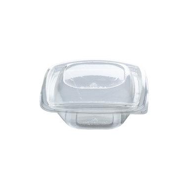 PLA saladebakje + deksel transparant 240ml